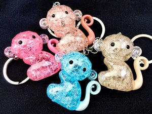 12003 CRYSTAL MONKEY CHARM-12
