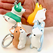Load image into Gallery viewer, 12006 CORGI CHARM with keyring-12