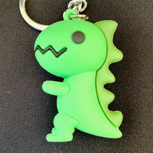 Load image into Gallery viewer, 12028 GREEN DINOSAUR CHARM with keyring-12