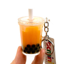 Load image into Gallery viewer, 12032 Boba Tea Keycharm-12