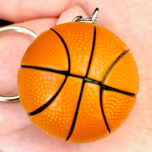 Load image into Gallery viewer, 12038 BASKETBALL CHARM with keyring-12