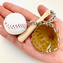 Load image into Gallery viewer, 12040 BASEBALL CHARM with keyring-12