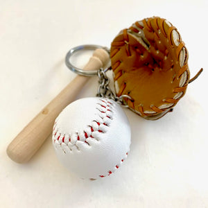 12040 BASEBALL CHARM with keyring-12