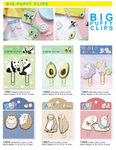 Load image into Gallery viewer, 12806 LLAMA PUFFY CLIPS-2 CLIPS-10