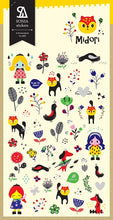 Load image into Gallery viewer, 02002 Midori Korean Paper Sticker-12