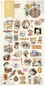 02024 LOVELY CAT Nylon Sticker-12