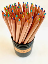 Load image into Gallery viewer, 21440  6-IN-1 COLORS WOOD PENCILS-60
