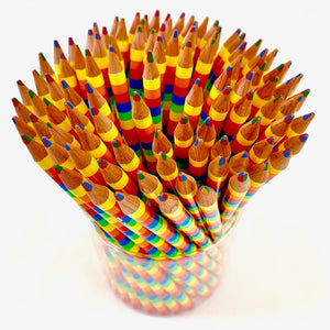 21442 RAINBOW 4-in-1 COLORS PENCILS-100