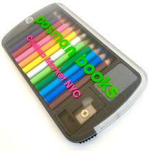 Load image into Gallery viewer, 22135 12 mini pencils in plastic case with your logo-1000