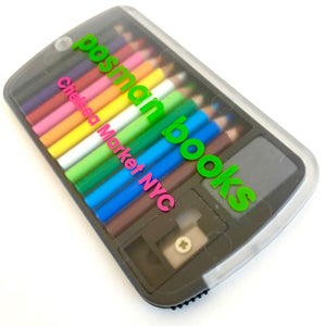 22135 12 mini pencils in plastic case with your logo-1000
