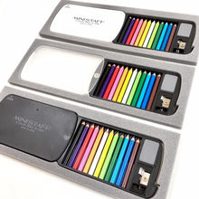 Load image into Gallery viewer, 22138 MINI PENCILS IN PLASTIC CASE IN RETAIL PACKAGE-Black-1