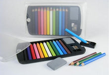Load image into Gallery viewer, 22139 MINI PENCILS IN PLASTIC CASE IN RETAIL PACKAGE-Clear-1
