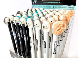 22219 HEDGEHOG GEL PEN-48