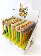 Load image into Gallery viewer, 22227 MONKEY BANANA GEL PEN-36