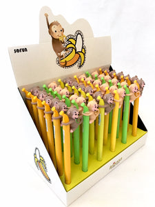 22227 MONKEY BANANA GEL PEN-36