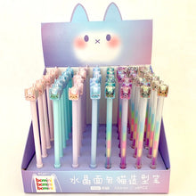 Load image into Gallery viewer, 22283 Crystal Cat Gel Pen-DISCONTINUED