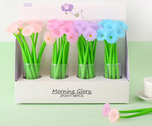 22296 MORNING GLORY GEL PEN-48