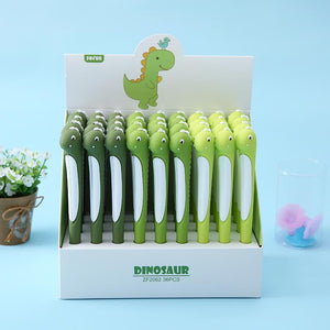22321 LONG DINOSAUR GEL PEN-36