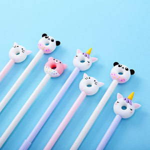 22329 DONUT ANIMAL GEL PEN-36