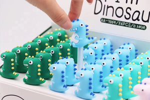 22341 CUTE DINO GEL PEN-36