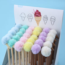 Load image into Gallery viewer, 22358 POM POM ICE CREAM GEL PEN-30