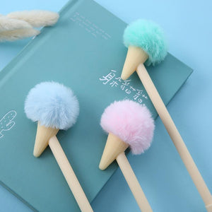 22358 POM POM ICE CREAM GEL PEN-30