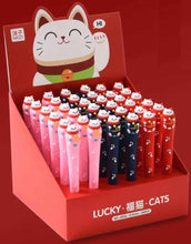 Load image into Gallery viewer, 22384 LUCKY CAT GEL PEN-36