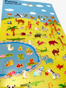 28632 SERENGETI GLITTER STICKERS-12