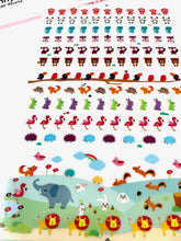 Load image into Gallery viewer, 30024 TINY ANIMAL FLAT PVC stickers-12