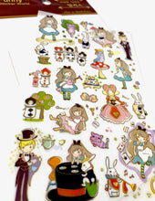 Load image into Gallery viewer, 31465 ALICE IN WONDERLAND PVC Sticker-12