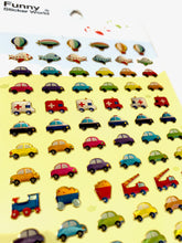 Load image into Gallery viewer, 37030 CARS GEL STICKERS-12
