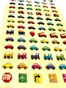 37030 CARS GEL STICKERS-12