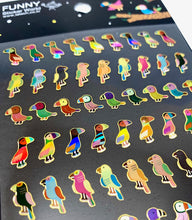 Load image into Gallery viewer, 37238 PARROT LASER STICKERS-12