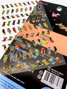 37238 PARROT LASER STICKERS-12
