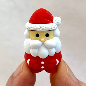 380111 Red Santa Claus Erasers-30
