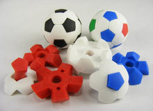 Load image into Gallery viewer, 381901 BLACK & WHITE SOCCER BALL ERASER-30