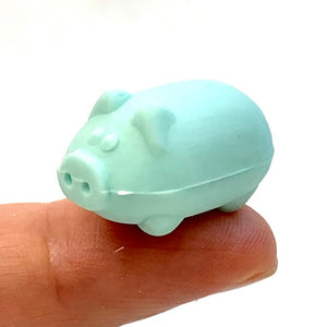 38192 DOUBLE MINI PIG ERASERS-40