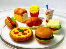 Load image into Gallery viewer, 38203 IWAKO FAST FOOD ERASERS-60