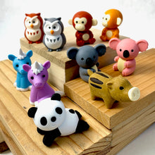 Load image into Gallery viewer, 382171 IWAKO FOREST ANIMAL ANIMAL ERASER-30