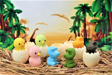 Load image into Gallery viewer, 38241 IWAKO BABY DINO AND CHICK ERASER-60