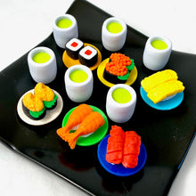 Load image into Gallery viewer, 382621 IWAKO SUSHI-GO-ROUND ERASERS-30