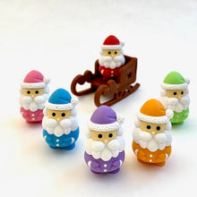 Load image into Gallery viewer, 38264 IWAKO SANTA CLAUS ERASERS-60
