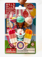 Load image into Gallery viewer, 38292 IWAKO ICE SHOP ERASERS CARD-10