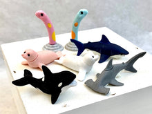 Load image into Gallery viewer, 38294 IWAKO OCEAN ANIMALS ERASERS CARD-10 CARDS