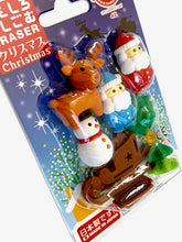 Load image into Gallery viewer, 383041 IWAKO CHRISTMAS ERASER CARDS-SINGLE