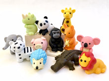Load image into Gallery viewer, 38360 IWAKO ANIMAL TRIPLE ERASERS-12