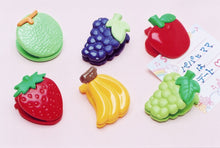 "Load image into Gallery viewer, 38508 Iwako 1"" Fruit Spring Clip-60"