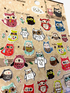 40474 BUBO OWL STICKERS -12