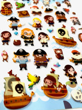 Load image into Gallery viewer, 40665 TREASURE ISLAND PUFFY STICKER -12