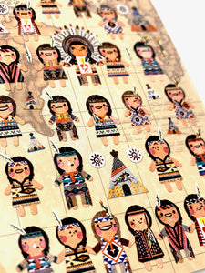 40702 INDIAN BOYS Tyvek Sticker-12